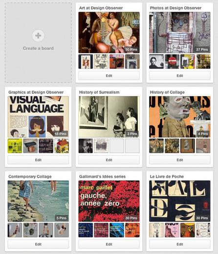 The Compulsively Visual World of Pinterest: Observatory: Design Observer | Design, Photography & Social Media | Scoop.it