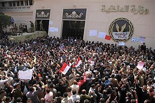Egypt's Interior Ministry Set Ablaze Amid Protest | Coveting Freedom | Scoop.it