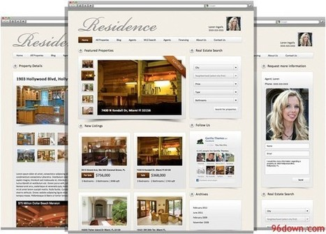 Download Residence Real Estate WordPress Theme | Download Free Nulled Scripts | IT Professionalism | Scoop.it