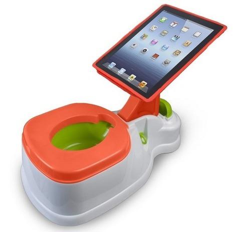 Invents innecessaris 2.0: un orinal amb iPad incorporat   Petits Clicks   GITIC i Educació   Scoop.it