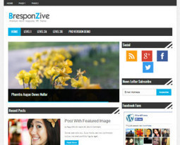 100 Full Free WordPress Approved News Magazine Design Themes Collector | Best Wordpress Plugins | Scoop.it