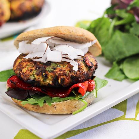 Tropical Chicken Burger | The Healthy Foodie | Foodies Delights | Scoop.it