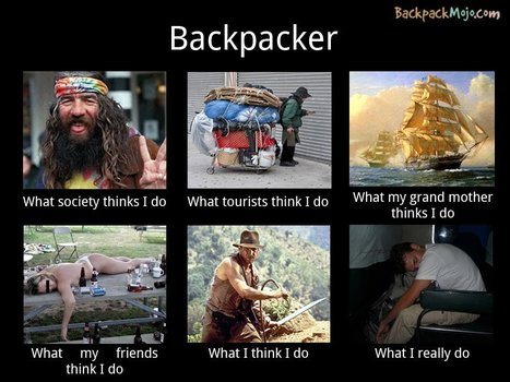 Backpacker | What I really do | Scoop.it