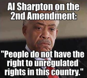 Sharpton on the 2nd Amendment: People do not have the right to unregulated rights in this country--what country is he living in? | Littlebytesnews Current Events | Scoop.it