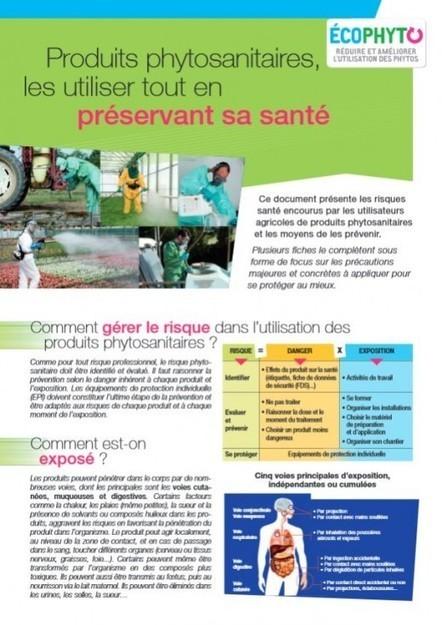 « Les produits phytosanitaires : les utiliser tout en préservant sa santé » (Ecophyto Pays de Loire) | Chimie verte et agroécologie | Scoop.it