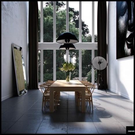 Formal Dining Room Decor   Designing Interiors   Scoop.it