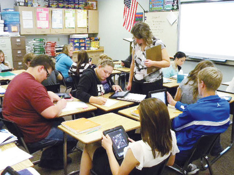 Homework in class, lectures at home: Students find success in 'flipped' Win-E ... - Bemidji Pioneer | Flipped Classroom in Education | Scoop.it