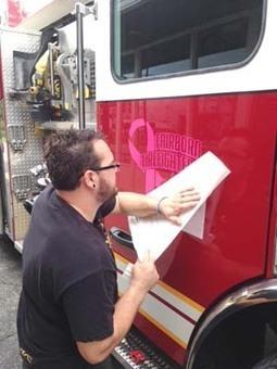 Local business makes logo for fire trucks - Fairborn Daily Herald | HotRodLogos.com | Scoop.it