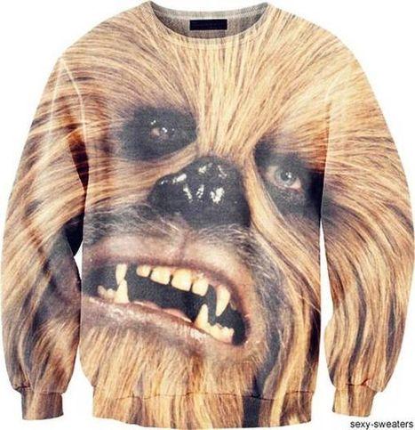 100 Humorous Pop Culture Sweaters - From Striking Superhero Hoodies to Hot Sauce Sweatshirts (TrendHunter.com) | Pop | Scoop.it