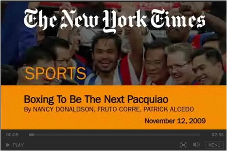 Boxing in the Shadow of Pacquiao | Sinica Geography 400 | Scoop.it