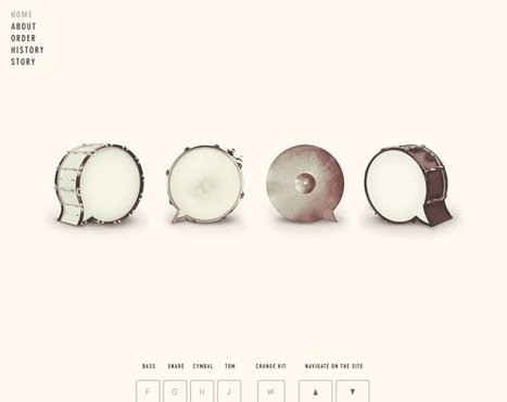 21 Inspiring Examples of White Space in Web Design | Global Insights | Scoop.it