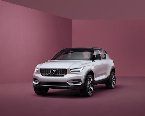 Volvo dévoile l'inédit SUV compact XC40 et la future V40 (2017)   Volvo Concept   Scoop.it