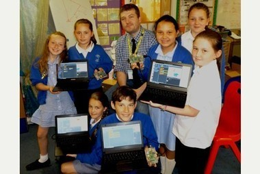 Raspberry Pi enjoyed by Ludgvan students - Cornishman | Raspberry Pi | Scoop.it