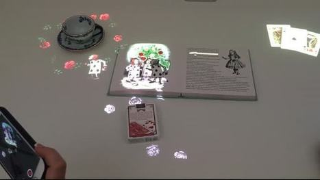 How an Interactive Tabletop Will Transform Reading | Aprendiendo a Distancia | Scoop.it