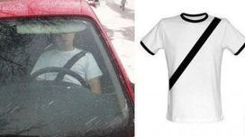 T-shirts designed to look like seatbelt straps | It's Show Prep for Radio | Scoop.it