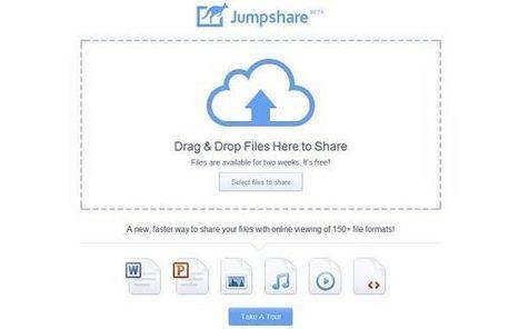 Jumpshare, comparte archivos de hasta 100 MB de forma rápida y sencilla | Las TIC y la Educación | Scoop.it