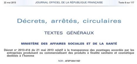 Sunshine Act : c'est parti ! Vision PR   sunshine act France   Scoop.it
