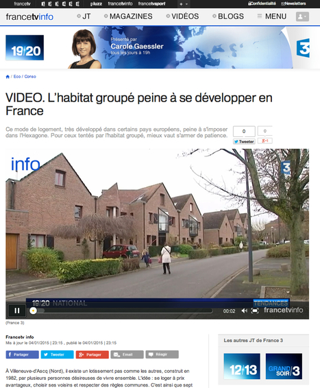 L'habitat groupé peine à se développer en France (+VIDEO) | Immobilier | Scoop.it