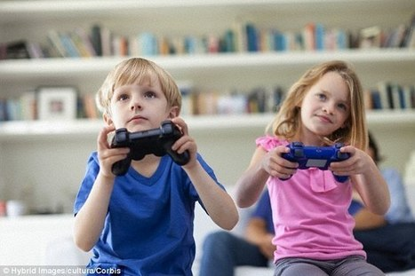 Forget violence, it's TIME spent playing video games that's damaging   Kickin' Kickers   Scoop.it
