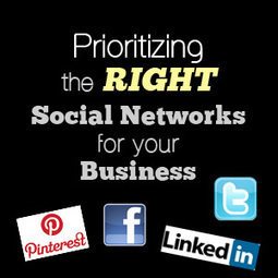 Social Media For Business: Prioritizing The Right Social Networks | The Social Customer | Scoop.it