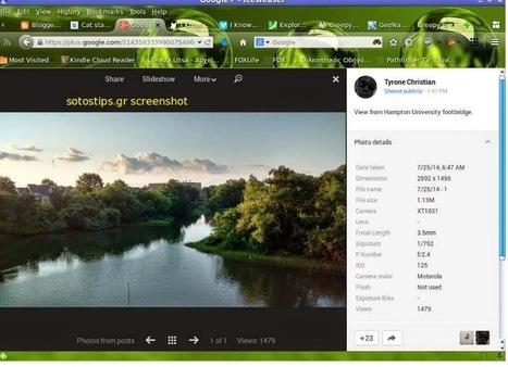 Μήπως μαζί με τη φωτογραφία μοιράζετε και την ακριβή τοποθεσία σας; - Sotostips | Blogging, other Social Media & Internet | Scoop.it