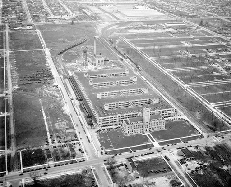 From Bustling Factory To Abandoned Eyesore: The Story Of The Old AMC Headquarters In Detroit | Ruinology | Scoop.it