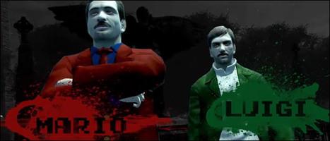 Mash Up : Mario et Luigi s'invitent dans GTA IV | All Geeks | Scoop.it