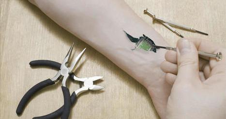 DuoSkin, un pas vers le TRANSHUMANISME pour tous ? | L'Atelier : Accelerating Innovation | Machines Pensantes | Scoop.it