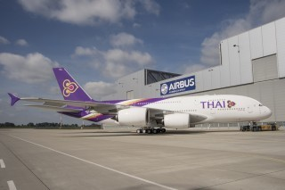 THAI and Malaysia Airlines First Airbus A380s Show Off Livery | Airlines and Airports | Scoop.it
