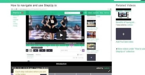 StepUp, utilidad web para dividir vídeos y compartir los fragmentos | IncluTICs | Scoop.it