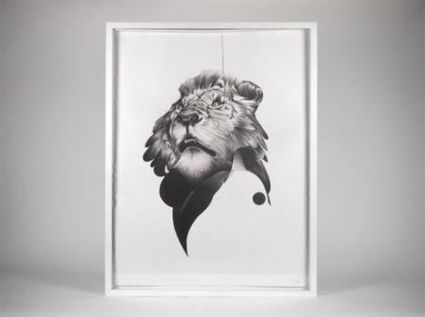 Animals Series by Von | Arts graphiques | Scoop.it