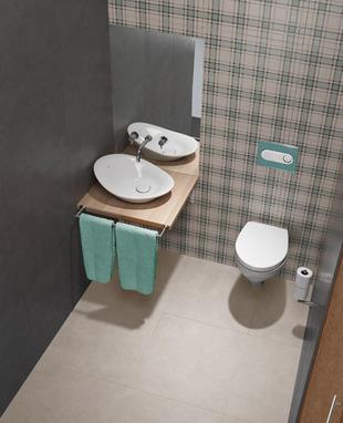 Le WC idéal des petites salles de bains | La Revue de Technitoit | Scoop.it