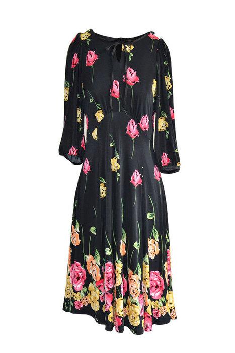 Đầm suôn bông hồng | Quần áo thời trang giá rẻ | Scoop.it