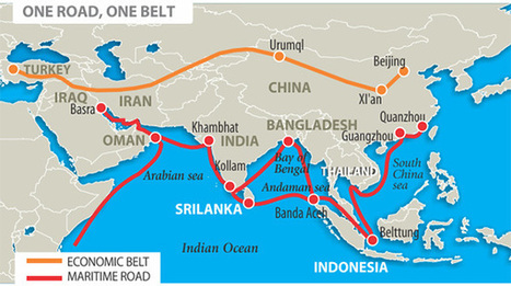 The New Silk Road passes through Iran - Elcano Blog | Géopolitique & Cartographie | Scoop.it