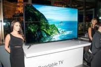 "Samsung at the forefront of TV industry; unveils 105"" UHD TV and 85"" bendable UHD TV 