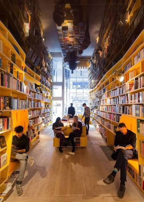 New London bookstore celebrates paper books in tech-free, universal library | Libraries, Books, and Writing | Scoop.it