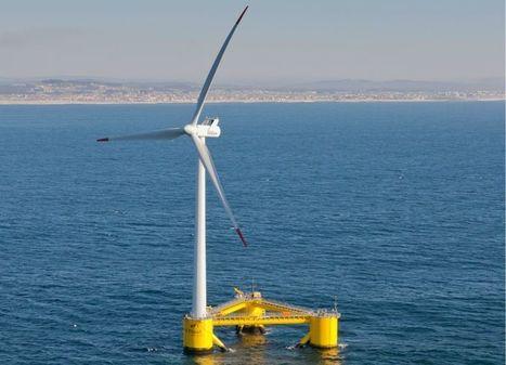 La energía eólica también flota en el mar   tecno4   Scoop.it