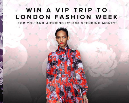 Win a VIP Trip to London Fashion Week | By Styling Amsterdam Fashion Designers Models Trendsetters Daily Notes Agenda Guide Style Trends Magazine Calendar Planner News Fashion days and deals Celebrity styles | Scoop.it