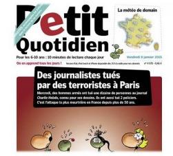 Charlie Hebdo : Le Petit Quotidien en téléchargement gratuit, expliquer aux enfants | IDBOOX | le français: ma passion | Scoop.it