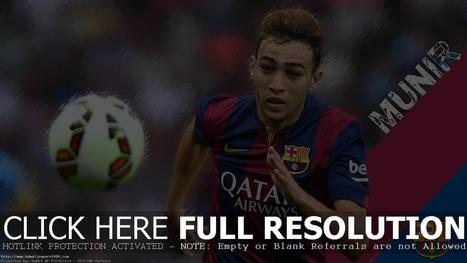 Munir El Haddadi 2014 FC Barcelona Wallpaper | High Definition Wallpapers (HD Wallpapers 1080p) | Scoop.it