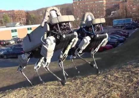 Spot Is Boston Dynamics' Nimble New Quadruped Robot - IEEE Spectrum | Robolution Capital | Scoop.it