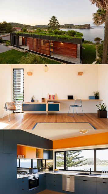 Eco-friendly prefab home with green roof built in... - eco3tree | Eco Friendly | Scoop.it