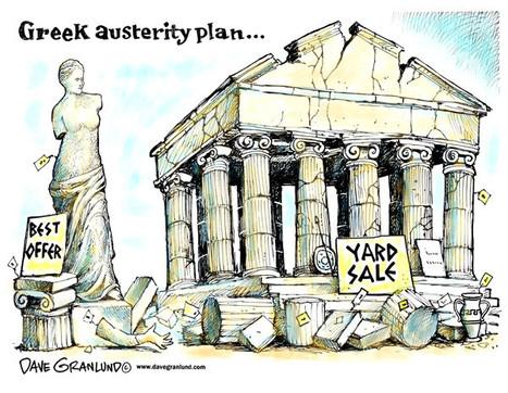 Great Depression in Europe: Christos Ikonomou and Greece   Learn Italian OnLine   Scoop.it