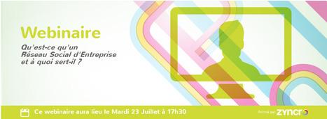 Webinaire: Qu-est-ce qu'un Réseau Social d'Entreprise et à quoi sert-il ? - Zyncro Blog France: le blog de l'Entreprise 2.0 | Webinaires gratuits | Scoop.it