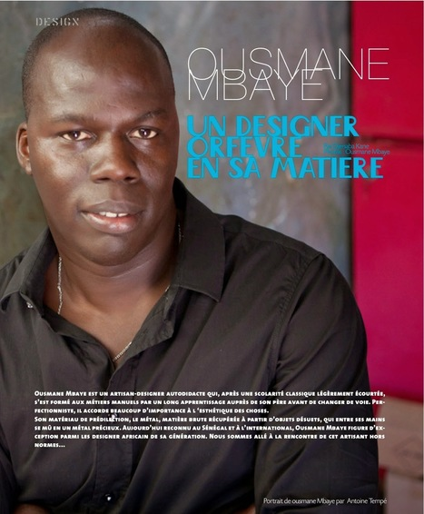 AFRIKADAA: Ousmane Mbaye : Dix ans dits en design | Afro design and contemporary arts | Scoop.it