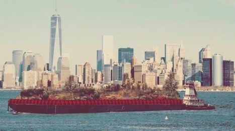 Un potager flottant sur les eaux de New York | The Blog's Revue by OlivierSC | Scoop.it