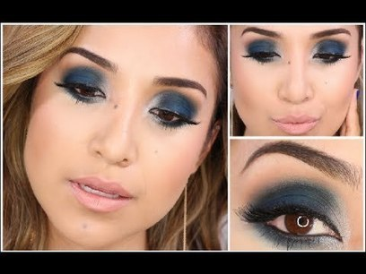 Smokey Blue Eye For A Night Out | Travel and Vacation | Scoop.it