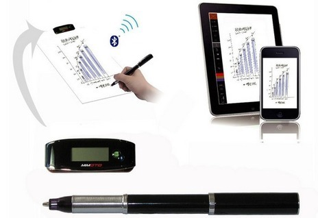 Mimoto Smart Pen Records Your Handwriting In Real-Time :: Gadgetify.com   Education Technology   Scoop.it