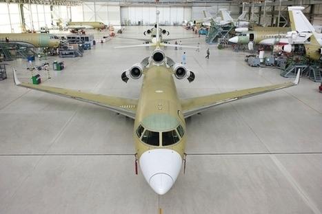 Dassault achève le 200e Falcon 7X ! : avia news | FlightControl | Scoop.it
