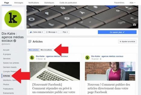 Ce qu'il faut savoir à propos de la nouvelle présentation des pages Facebook | Social Media Curation par Mon Habitat Web | Scoop.it